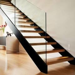 心韵楼梯实木楼梯玻璃扶手复式