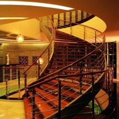 心韵楼梯实木楼梯扶手 图片色 咨询客服 定制尺寸