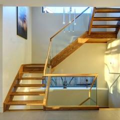 心韵楼梯玻璃转角楼梯 图片色 咨询客服 定制尺寸