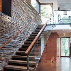 心韵楼梯中式楼梯玻璃 图片色 咨询客服 定制尺寸