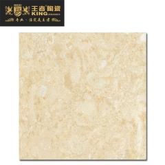 王者陶瓷防滑耐磨地砖客厅餐厅阳台通体大理石瓷砖皇室莎安娜KAY0829801 800mmX800mm