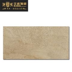 王者陶瓷防滑耐磨瓷砖客厅厨房阳台地砖现代仿古砖麦里金W-GN-KF126H2JA028 600mmX