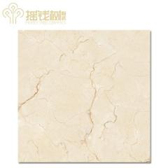 摇钱树陶瓷客厅卫生间大理石瓷砖防滑耐磨地板砖西班牙米黄MD8101A 800x800mm