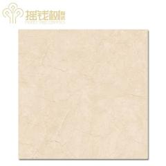 摇钱树陶瓷客厅卫生间大理石瓷砖防滑耐磨地板砖金叶米黄MD8111A 800x800mm