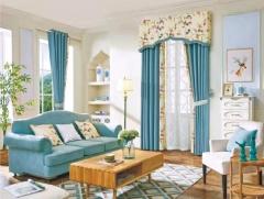 尚美壁纸    高端亚麻遮光窗帘布   限时特惠 每米