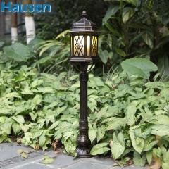 欧司朗照明皓森照明高品质明清古典草地灯 户外防雨防晒草坪灯 花瓶立杆灯花园落地灯