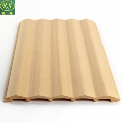 瑞森木业 生态木长城板浮雕板150三角板木阳台吊顶墙裙装饰材料护墙板 定金