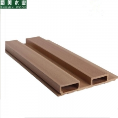 蜀美木业  生态木195高槽长城板 生态木护墙板绿可木外墙板生态木天花吊顶板 定金