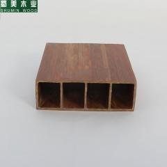 蜀美木业 生态木方木150x50隔断吊顶方通立柱新型装饰材料 生态木方木吊顶 定金