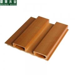 蜀美木业 生态木墙板长城板137长城板护墙板装饰板墙裙吊顶门头 定金
