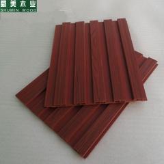 蜀美木业 生态木长城板150小长城木塑吊顶板墙裙护墙板背景墙150墙面装饰板 定金