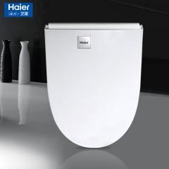 海尔卫浴家用智能马桶盖即热式遥控全自动洁身冲洗器加热盖板158