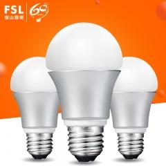 佛山照明 LED灯泡E27螺口螺旋5W玻璃球泡灯室内家用节能灯光源 E27螺口 7W