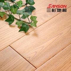 三杉地板纯实木地板18mm白蜡木天然全实木手抓仿古木地板