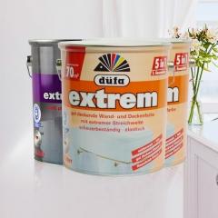 dufa 德国都芳漆第二代五合一墙面漆水性乳胶漆 涂料 白色 5L