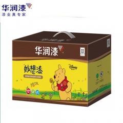 华润漆 盈润晶彩清味金装PU木器漆 5.2KG