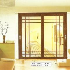 欧尚名门 吊趟门系列 黑胡桃A-039 可定制 图片色 铝合金(具体咨询客户) 定金