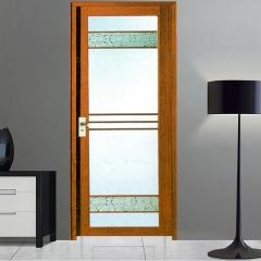 欧尚名门 平开门系列 红胡桃E-208 格条玻璃 可定制 图片色 铝合金(具体咨询客户) 定金