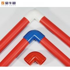 金牛管业PVC穿线管电工套管连接线盒