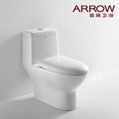 ARROW箭牌卫浴喷射虹吸式连体坐便器AB1116