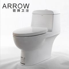 箭牌卫浴喷射虹吸式陶瓷马桶 家用坐便器卫生间静音AB1240