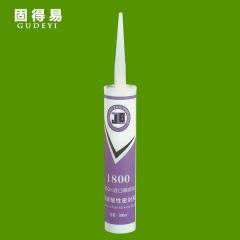 盛信胶行固得易玻璃胶高级酸性硅酮玻璃胶1800