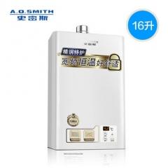 史密斯 16升TM 燃气热水器 家用天然气 AO防煤气中毒 16L