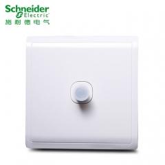 施耐德开关插座面板 丰尚系列白 带一分支 螺口电视插座E8231TVMF 旺鸿灯饰
