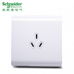 施耐德空调插座面板 丰尚系列雅白色16A三孔插座面板86型 空调插座E82426_16CS 旺鸿灯饰