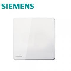 西门子开关插座 睿致系列象牙白墙壁插座 阻燃PC 86型空白盖板5UB8113-3NC02 澳星照明