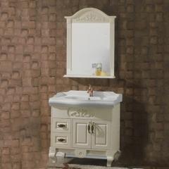 水星卫浴简约现代浴室柜组合浴室柜卫生间洗漱台A-6007 主柜800*480mm 定金