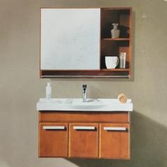 水星卫浴简约现代浴室柜组合浴室柜卫生间洗漱台A-6018 主柜900*460*480mm 定金
