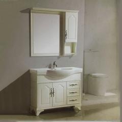 水星卫浴简约现代浴室柜组合浴室柜卫生间洗漱台A-6023 主柜1000*470mm 定金