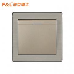 丰立电工 86 家悦系列A 开关插座  FA86-01 定金