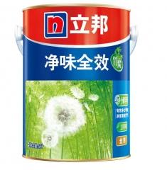 立邦漆 竹炭净味全效 无添加墙面乳胶漆 环保净味 5L