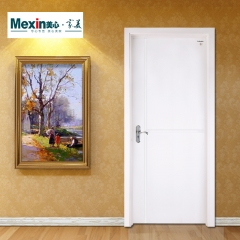 Mexin美心门 免漆实木复合门 室内门卧室门 静音门套装门N987