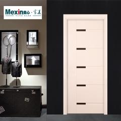 Mexin美心门 实木复合门 套装门室内门卧室门免漆门静音门8104 颜色可定制 木 8104