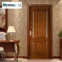 Mexin美心门 卧室门油漆门纯木门室内门套装门欧式实木门3728 颜色尺寸可定制 木 3728