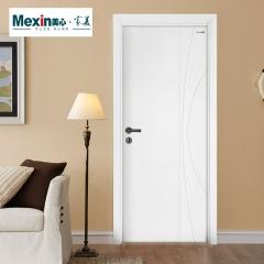 Mexin美心门 室内门静音门实木复合门油漆门 定制木门N843 颜色可定制 木 N843