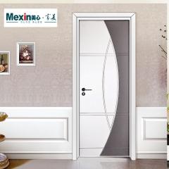 Mexin美心门简约室内门卧室门实木复合油漆门定制门套装门@3662 图片色 木 3662