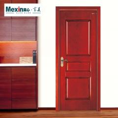 Mexin美心门室内门实木门纯木门高端油漆门卧室门现代套装门@3725 JI22-柳烟-花梨(直纹)
