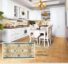 意大利加德妮冠田园复古砖 33312-Y2 165*333 客厅厨房卧室阳台防滑复古砖 规格:片