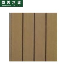 蜀美生态木隔音板家庭影院会议室琴房墙面板材木质吸音板系列SM-9124 定金