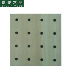 蜀美生态木隔音板家庭影院会议室琴房墙面板材木质吸音板系列SM-32/32/8 定金