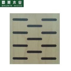 蜀美生态木隔音板家庭影院会议室琴房墙面板材木质吸音板系列SM-7814 定金