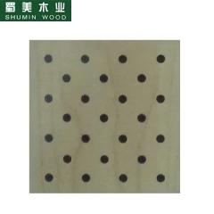 蜀美生态木隔音板家庭影院会议室琴房墙面板材木质吸音板系列SM-32/16/6 定金