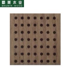 蜀美生态木隔音板家庭影院会议室琴房墙面板材木质吸音板系列SM-16/16/4 定金