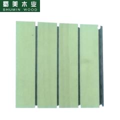 蜀美生态木隔音板家庭影院会议室琴房墙面板材木质吸音板系列SM-28/4型1 定金
