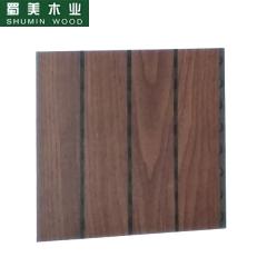蜀美生态木隔音板家庭影院会议室琴房墙面板材木质吸音板系列SM-28/4型2 定金
