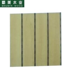 蜀美生态木隔音板家庭影院会议室琴房墙面板材木质吸音板系列SM-28/4型3 定金